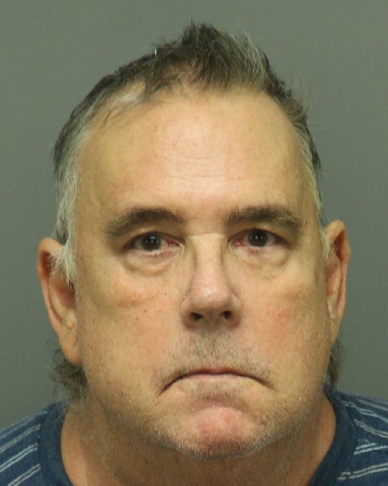 RUDOLPH WILLIAM WEDINGER Mugshot / County Arrests / Wake County Arrests